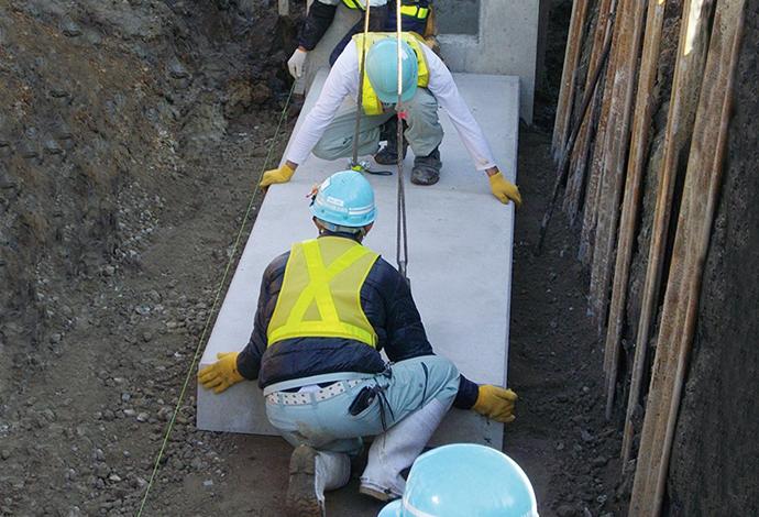 コンクリート基礎板(プレキャスト基礎板)